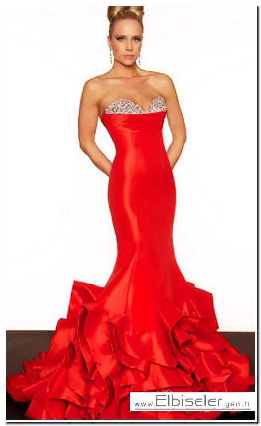 kirmizi-seksi-elbise