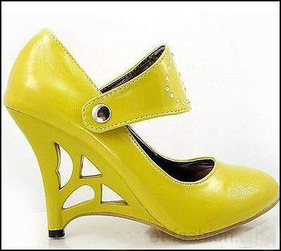 sarı-yuksek-topuklu-ayakkabı-modelleri