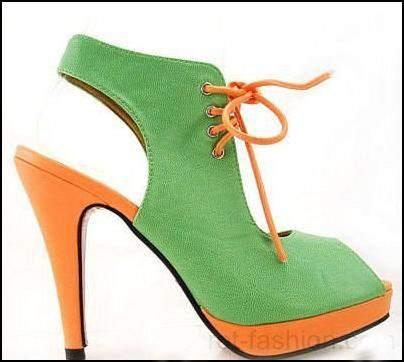 turuncu-yuksek-topuklu-ayakkabı-modelleri